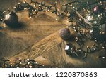 christmas or new year...   Shutterstock . vector #1220870863