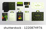 brand identity concept with... | Shutterstock .eps vector #1220874976