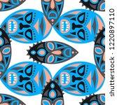 seamless pattern. abstract... | Shutterstock .eps vector #1220897110