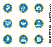 business recharge icons set....   Shutterstock . vector #1220912320