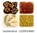 group of assorted indian spices ... | Shutterstock . vector #1220914060