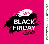 black friday sale web banner... | Shutterstock .eps vector #1220949766