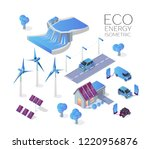 alternative energy concept...   Shutterstock .eps vector #1220956876