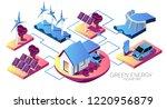 alternative energy concept...   Shutterstock .eps vector #1220956879