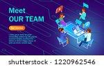 isometric illustration of a... | Shutterstock .eps vector #1220962546