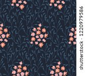 seamless vector pattern with... | Shutterstock .eps vector #1220979586