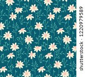 seamless vector pattern with... | Shutterstock .eps vector #1220979589