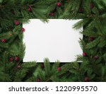 festive background with copy... | Shutterstock . vector #1220995570
