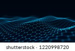 abstract technology background. ... | Shutterstock . vector #1220998720