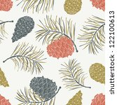 Cone Seamless Pattern