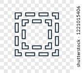 focus concept vector linear... | Shutterstock .eps vector #1221015406