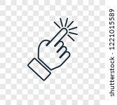 select concept vector linear... | Shutterstock .eps vector #1221015589