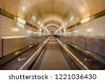 the old elbe tunnel or st....