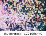 bright light spots abstract... | Shutterstock . vector #1221056440
