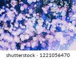 bright light spots abstract... | Shutterstock . vector #1221056470