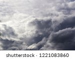 sky air background with gray... | Shutterstock . vector #1221083860