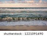 Big Breaking Sea Wave On A...