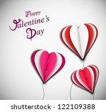 background happy valentine's... | Shutterstock .eps vector #122109388