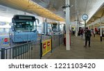 london heathrow airport  uk  ... | Shutterstock . vector #1221103420