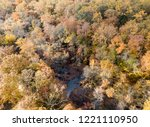 aerial drone image of colorful...   Shutterstock . vector #1221110950