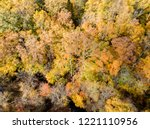 aerial drone image of colorful...   Shutterstock . vector #1221110956
