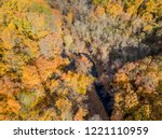 aerial drone image of colorful...   Shutterstock . vector #1221110959