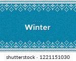 hello winter. vector... | Shutterstock .eps vector #1221151030