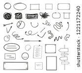 abstract arrows. grunge... | Shutterstock .eps vector #1221172240