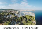 aerial bird view panoramic 360... | Shutterstock . vector #1221173839