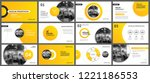 presentation and slide layout... | Shutterstock .eps vector #1221186553