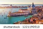 aerial view of the grand canal... | Shutterstock . vector #1221190513