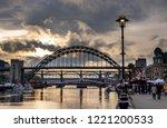 newcastle  england november 4 ... | Shutterstock . vector #1221200533