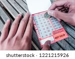 brighton  england 1 october... | Shutterstock . vector #1221215926