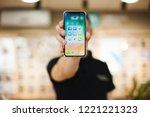 moldova  hincesti  29.10.2018.... | Shutterstock . vector #1221221323
