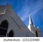 Church With White Steeple...