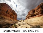 hike in the utah mountains | Shutterstock . vector #1221239143
