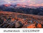 beautiful landscape of ... | Shutterstock . vector #1221239659