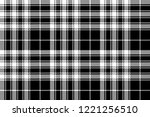pride of scotland tartan fabric ... | Shutterstock .eps vector #1221256510