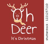 Hand Drawn Oh Deer  It\'s...