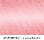 rose metal background | Shutterstock . vector #1221258193