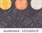 bitcoins as virtual money ... | Shutterstock . vector #1221263119