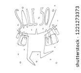 hand vector stick figure...   Shutterstock .eps vector #1221273373