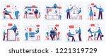 vector illustrations of the... | Shutterstock .eps vector #1221319729