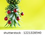 creative christmas tree made of ... | Shutterstock . vector #1221328540