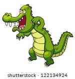 illustration of cartoon... | Shutterstock .eps vector #122134924
