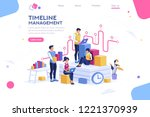 document management  team... | Shutterstock .eps vector #1221370939