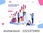 alternative progress  building... | Shutterstock .eps vector #1221372403