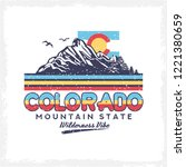 background of colorado  design...   Shutterstock .eps vector #1221380659