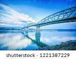 Bridge Over Danube River...