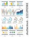 statistics in visual form ... | Shutterstock .eps vector #1221393583